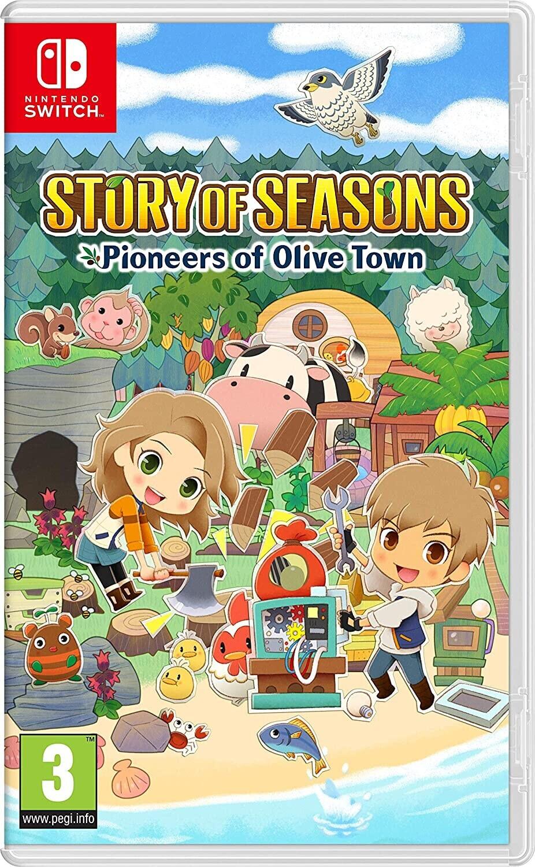 Story of Seasons: Pioneers of Olive Town sur Switch à 1€ pour la reprise d'un jeu vidéo Switch parmi une sélection