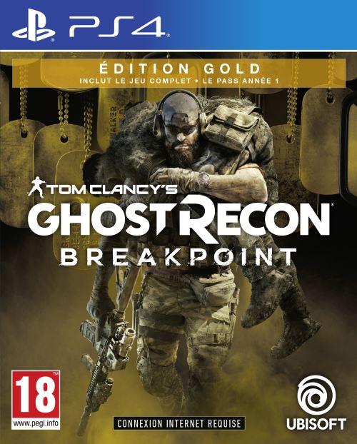 Tom Clancy's Ghost Recon Breakpoint - Édition Gold sur PS4 (frais de port inclus, vendeur tiers)