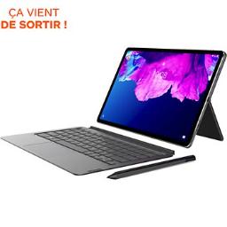 "Tablette 11.5"" Lenovo P11 Pro avec Clavier et stylet - OLED (WQXGA 2560x1600), Snapdragon 730G, 6 Go RAM, 128 Go, Android 10"