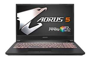 "PC portable 15.6"" full HD Gigabyte Aorus 5 SB-7ES1130SD - i7-10750H, GTX 1660 Ti (6 Go), 16 Go de RAM, 512 Go en SSD, Windows 10, QWERTY ES"