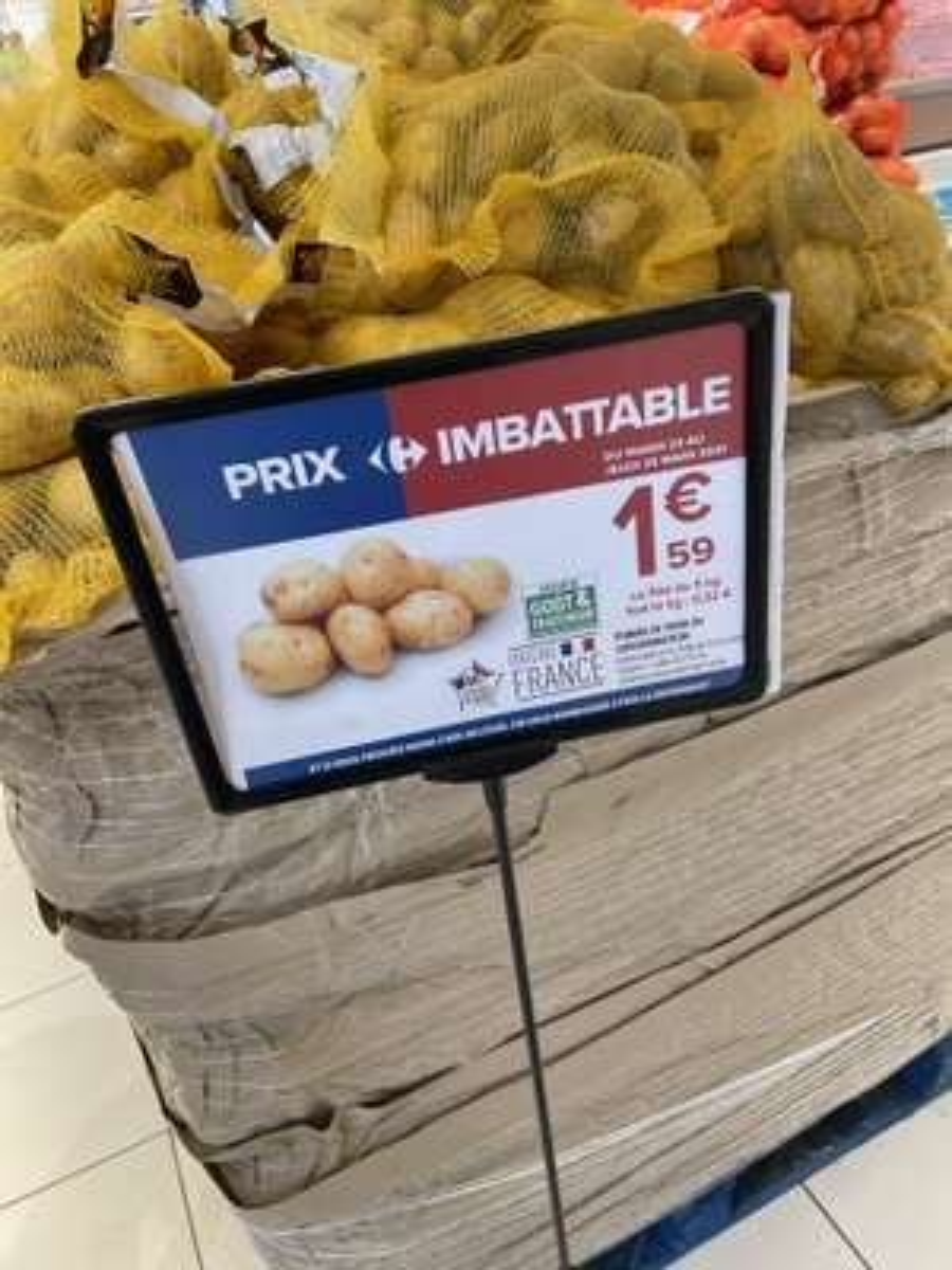 Sac de pomme de terre - Origine France (5 kg) - Saint-Mard (77)