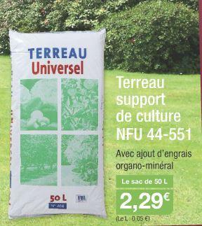 Terreau universel (50 L)