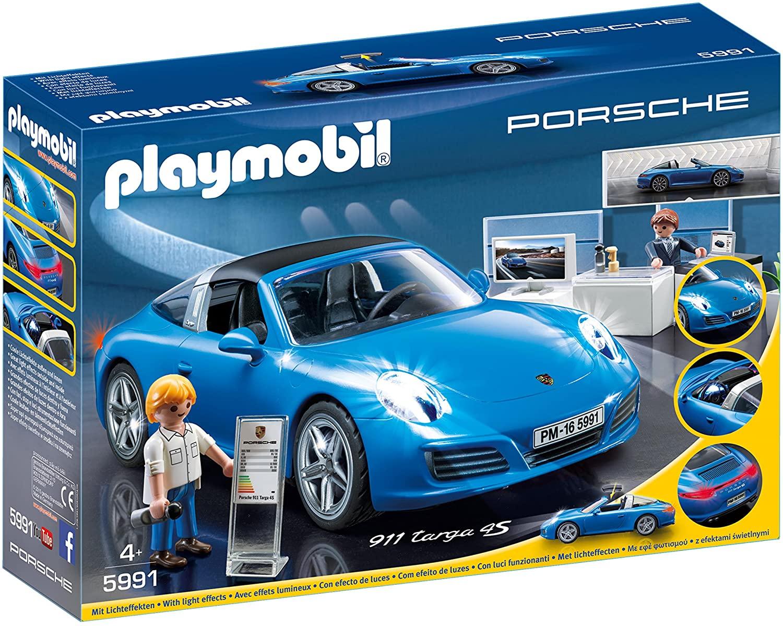 Sélection de jouets Playmobil en promotion - Ex : Jouet Playmobil Porsche 911 Targa 4S (via 19,95€ sur la carte fidélité) - Anet (28)
