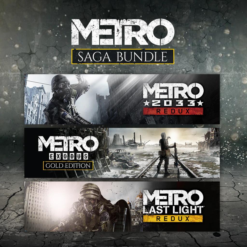 [Membres Xbox Live Gold] Bundle Metro Saga sur Xbox One & Series S/X (dématérialisé)