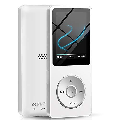 """Lecteur MP3 avec écran 1.8"""" Aigital - 16 Go, avec haut-parleur, blanc (vendeur tiers)"""