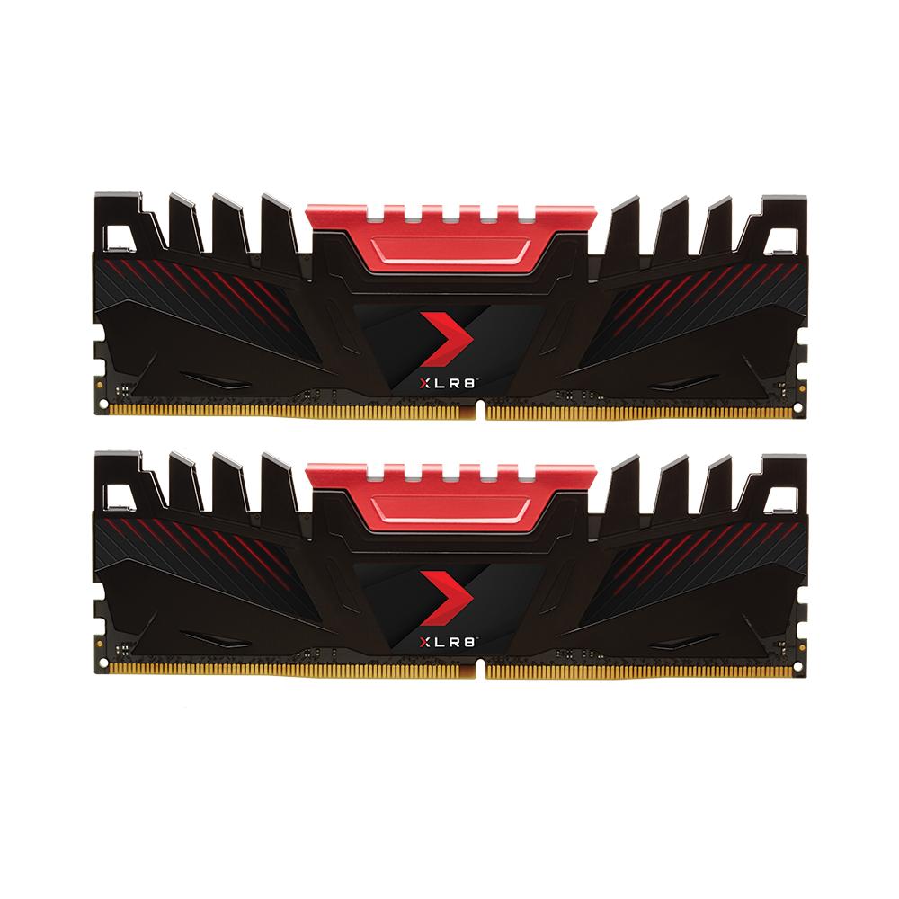 Kit Mémoire DDR4 PNY XLR8 32 Go (2 x 16 Go) - 3200 MHz, CAS 16