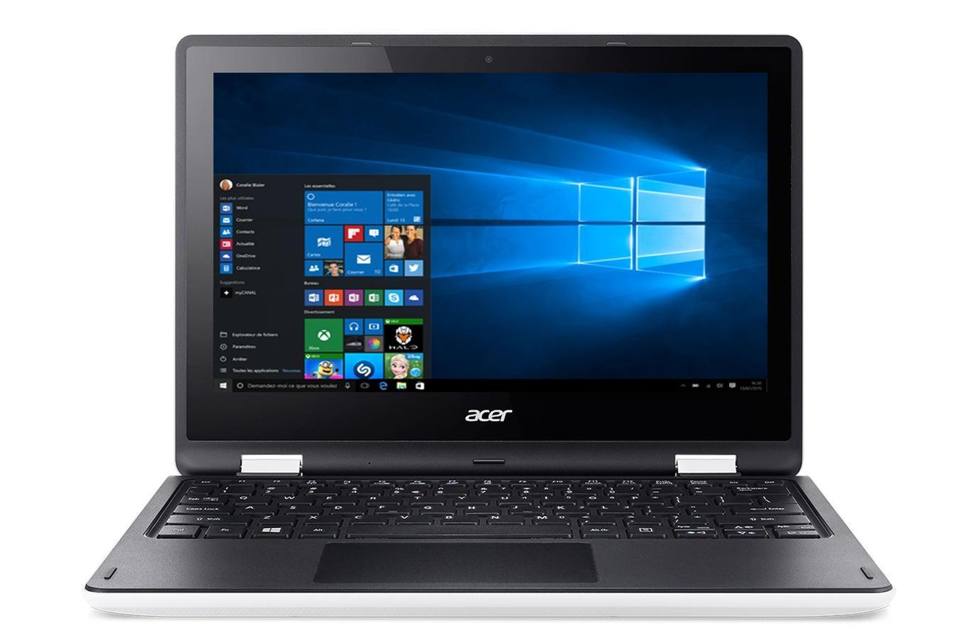 """PC portable 2-en-1 11,6"""" Acer Aspire R11-R3-131T-P9KR - N3700, 4 Go de RAM, 500 Go (via 50€ d'ODR)"""