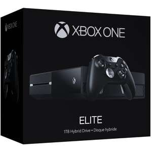 Console Xbox One Elite - 1 To + 1 jeu (Forza Motorsport 6, Halo 5: Guardians ou Rise of the Tomb Raider)