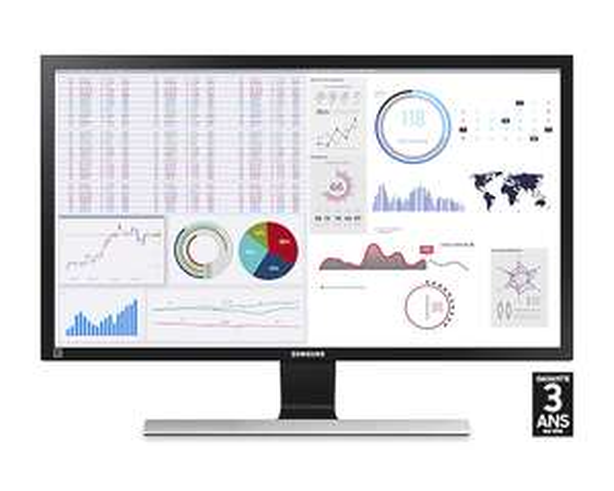 "Ecran PC 28"" Samsung U28E590D - 4K UHD, Dalle TN, 60 Hz, 1 ms, FreeSync"