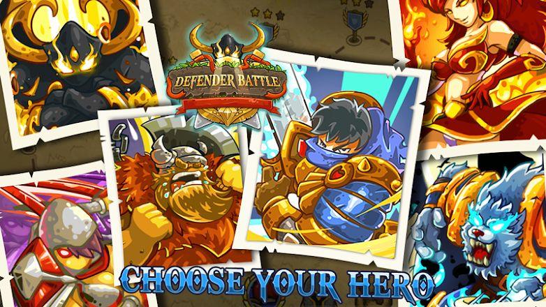 Defender Battle: Hero Kingdom Wars Premium gratuit sur Android