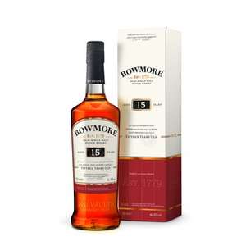 Coffret Whisky Bowmore - 15 ans (70cl)