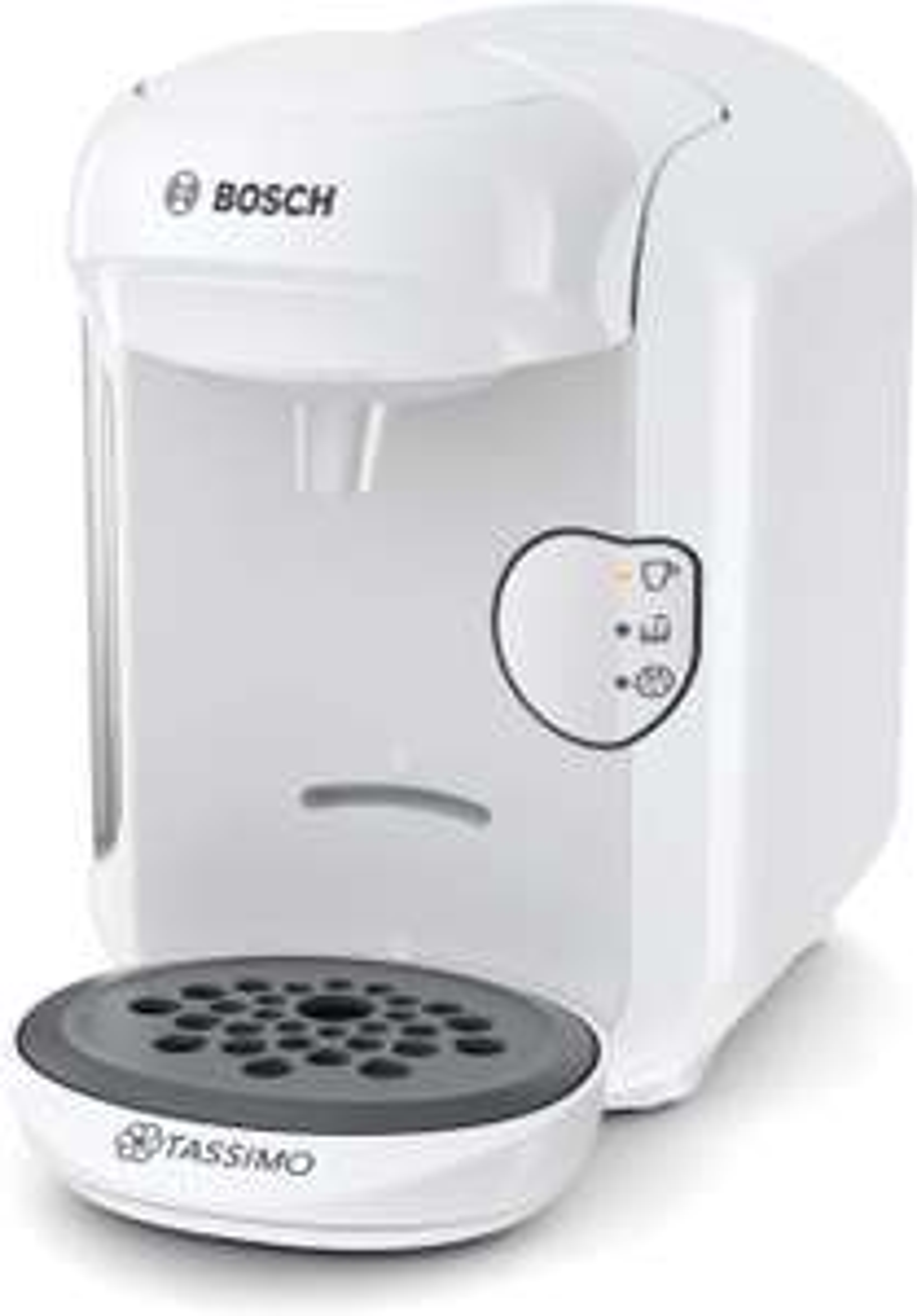 Machine à Café Bosch Tassimo TAS1404 - Blanc, 1300 W, 0,7 L