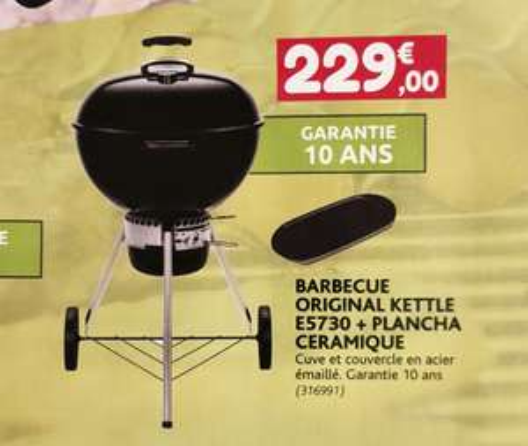 Barbecue Weber Kettle E5730 + plancha - Point Vert à Rodez (12)
