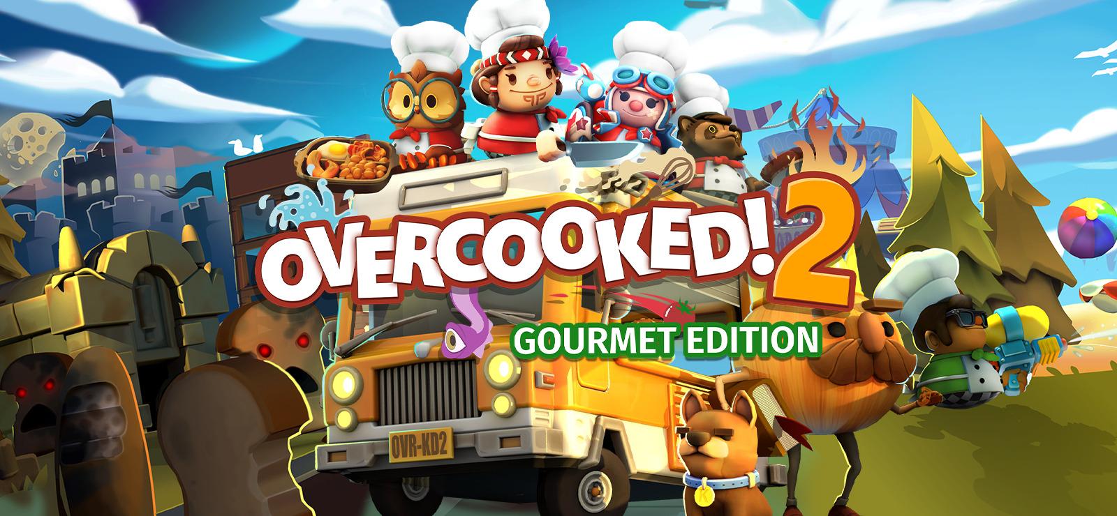 Jeu Overcooked! 2 - Gourmet Edition sur PC (Dématérialisé - GOG - via VPN Russe)