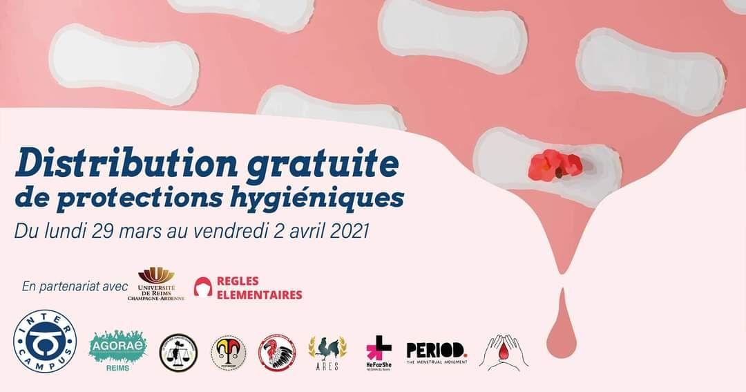 [Etudiantes] Distribution gratuite de protections hygiéniques - Reims (51)