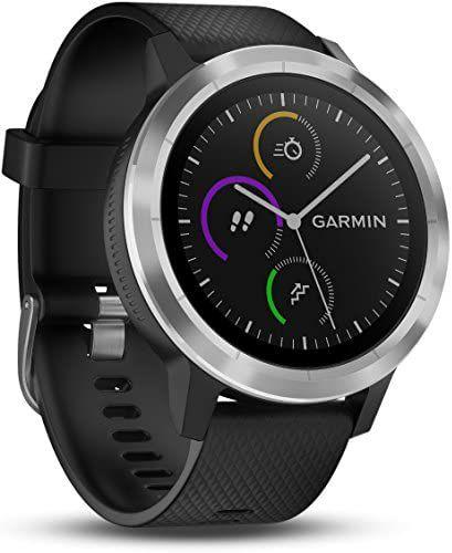 Montre connectée GPS Garmin Vivoactive 3 - Noire (Remis à neuf)