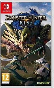 Précommande : Jeu Monster Hunter Rise sur Nintendo Switch (via reprise d'un jeu parmi une sélection)