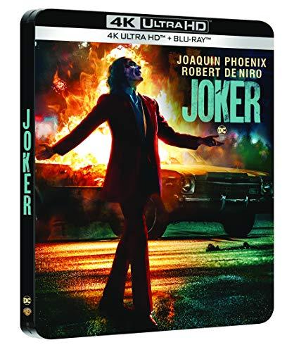 Blu-Ray 4K Ultra HD Joker Édition boîtier SteelBook