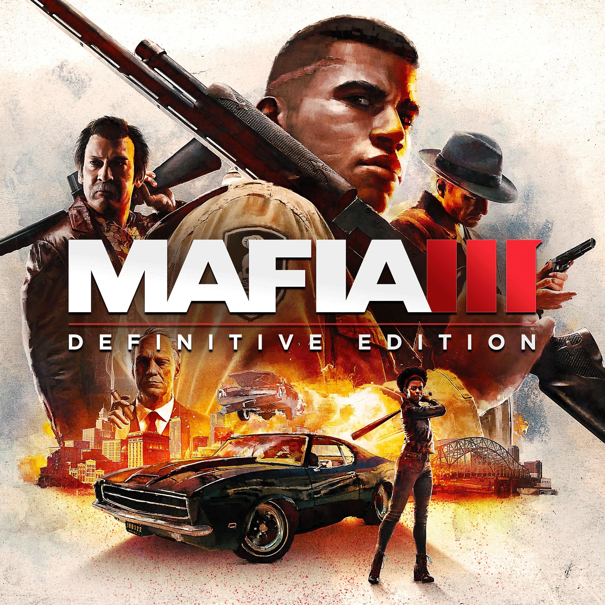 Mafia III: Definitive Edition: Le Jeu + Tous les DLC sur PC (Dématérialisé - Steam)