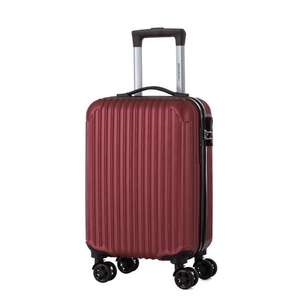 Valise trolley Travel World - 50cm, Rouge