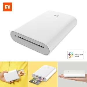 Imprimante photo de proche Xiaomi Portable Mini Pocket - Version Internationale (Vendeur tiers)