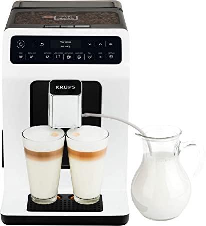Machine à café automatique Krups Evidence EA890110 - Blanc