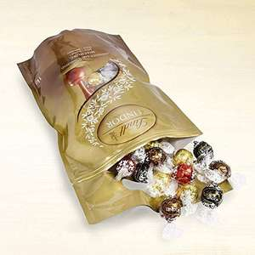 Sélection de chocolats Lindt en promotion - Ex: Lindt Lindor Assorti Doypack Boules - 1Kg