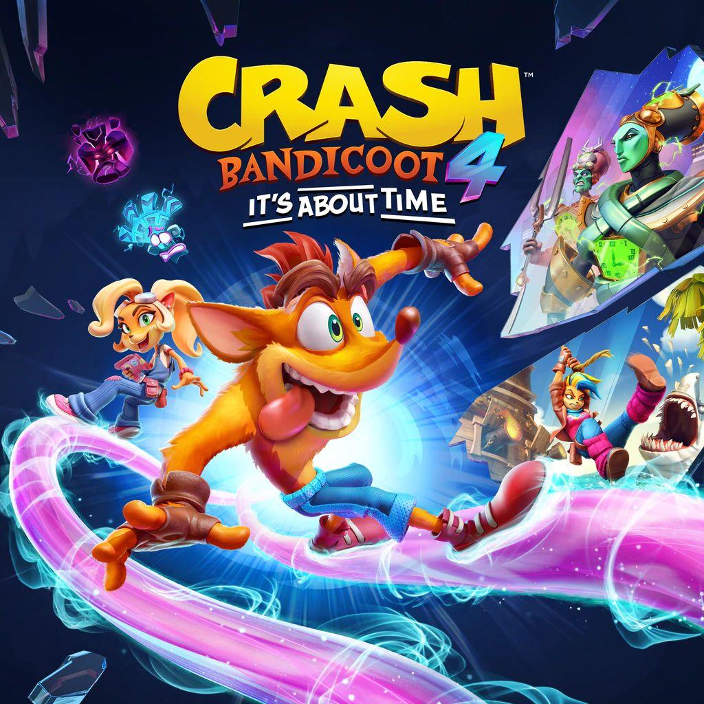 Crash Bandicoot 4: It's About Time sur Xbox One, Series (Dématérialisé)