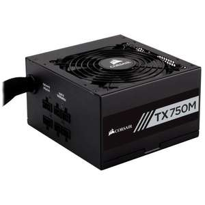 Bloc d'alimentation PC Corsair TX750M - 80Plus Gold, 750 W