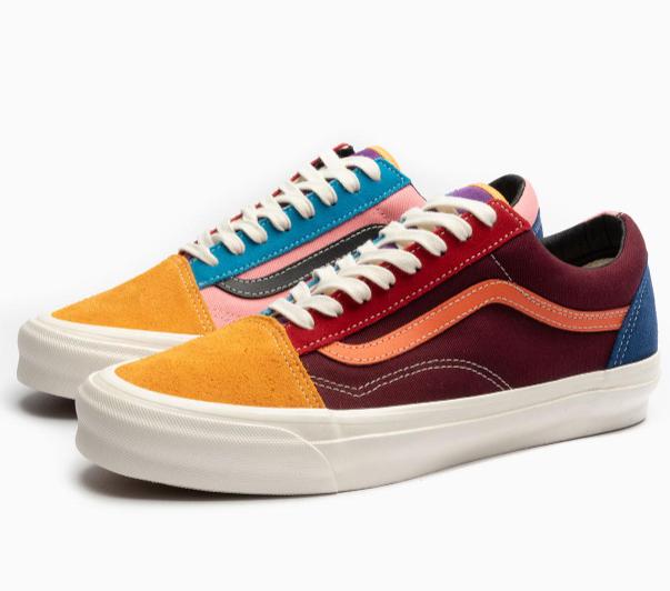 Chaussures Vans UA OG Old Skool - Multicolor