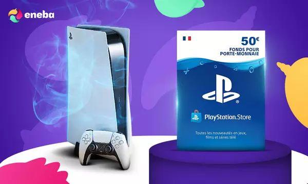 Carte Playstation Network de 50€ (Dématérialisée)