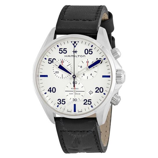 Sélection de montres Hamilton en promotion - Ex : Montre quartz Hamilton Khaki Aviation Chrono Pilot H76712751 (Frais d'importation inclus)