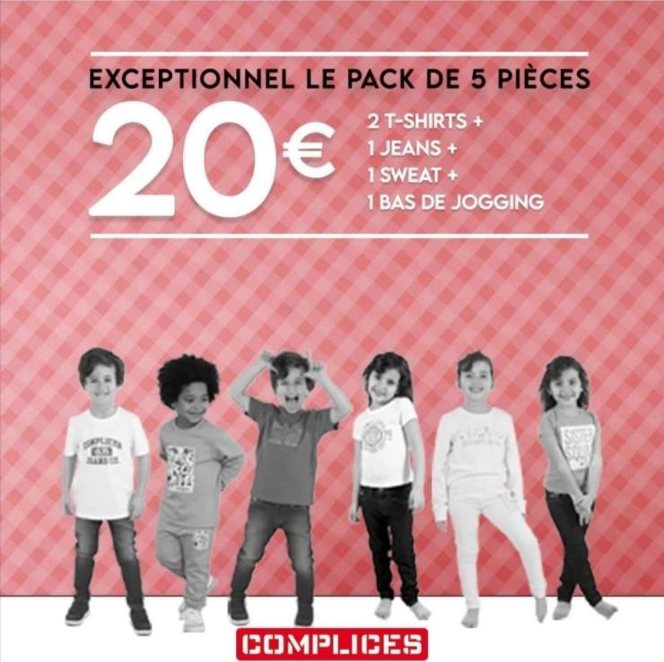 Ensemble 5 pièces fille ou garçon - 3 à 14 ans (complices.com)