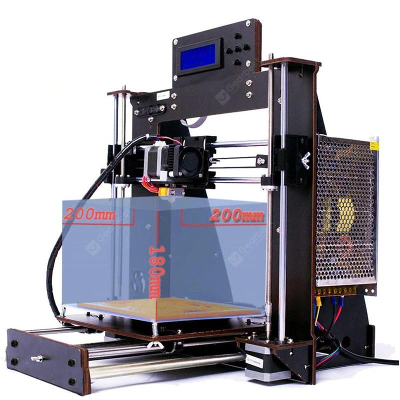 Imprimante 3D Prusa i3 Reprap MK8 version 2020 - 220 x 220 x 250 mm (Entrepôt allemand)