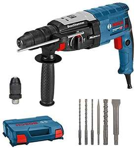Perforateur Burineur sds+ Bosch GBH 2-28 F + box L-case + jeu de six outils