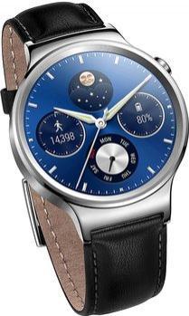 Montre connectée Huawei Watch Classic - bracelet en cuir (via ODR de 50€)