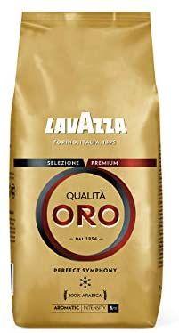 Paquet de café en grains Lavazza Qualita Oro - 1kg