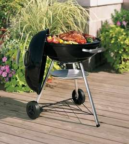 Barbecue charbon de bois Weber Compact Kettle - 57 cm