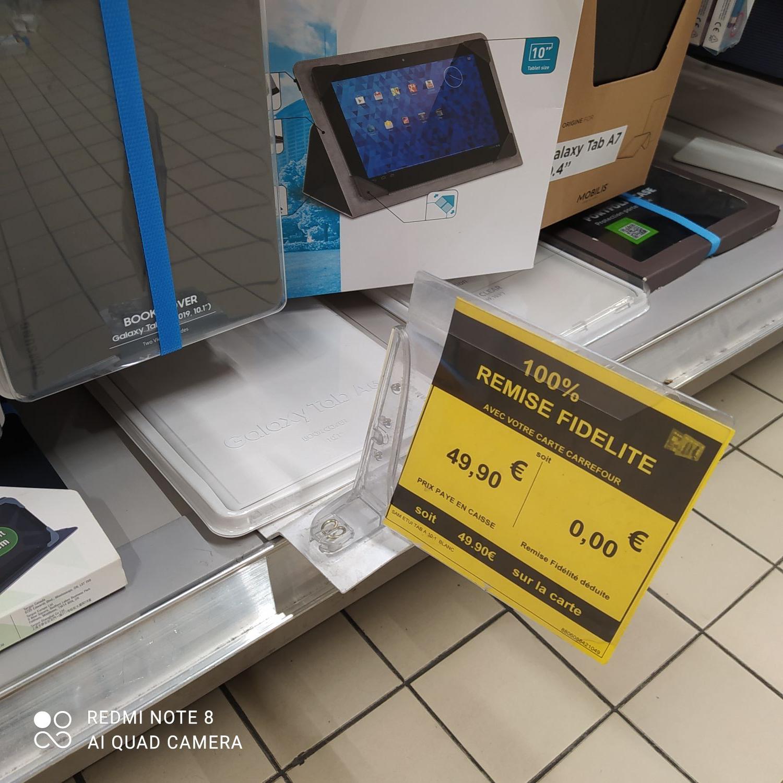 """Sélection de produits 100% remboursés - Ex: Etui pour tablette 10.1"""" Samsung A (via 49,90€ sur le compte fidélité) - Feurs (42)"""