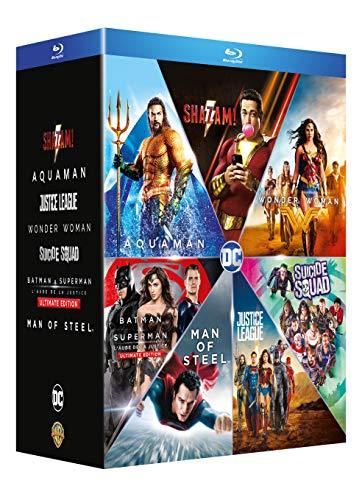 Coffret Blu-ray DC Extended Universe - Collection de 7 films