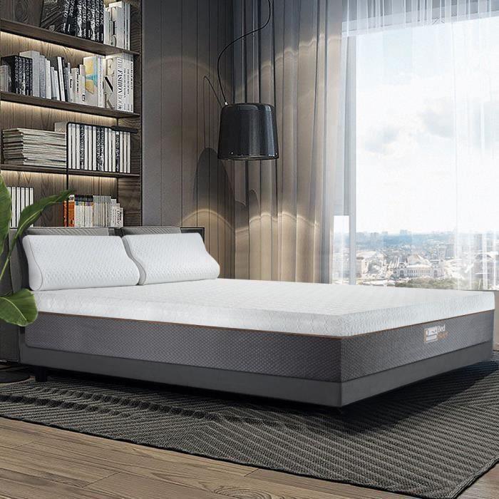 Matelas en mousse haute-densité BedStory HR - 7 zones de confort, 160x200 cm (vendeur tiers)