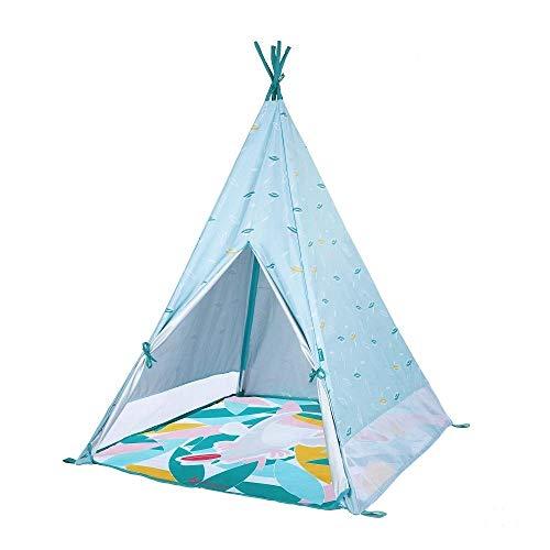 Tipi Badabulle Jungle Tente pour enfant - Anti-UV FPS 50+, Matelas Waterproof