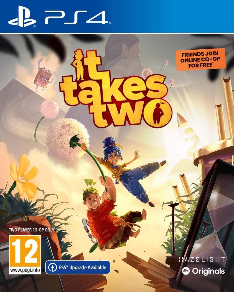 Jeu It Takes Two sur PS4 (Compatible PS5) ou Xbox One