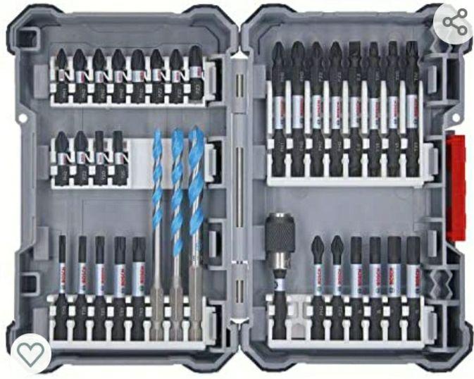 Coffret embouts Bosch Impact Control - 35 pièces