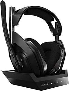 Casque audio sans-fil Astro Gaming A50 avec station de charge pour Xbox One/PC ou PlayStation/PC (Frontaliers Suisse)