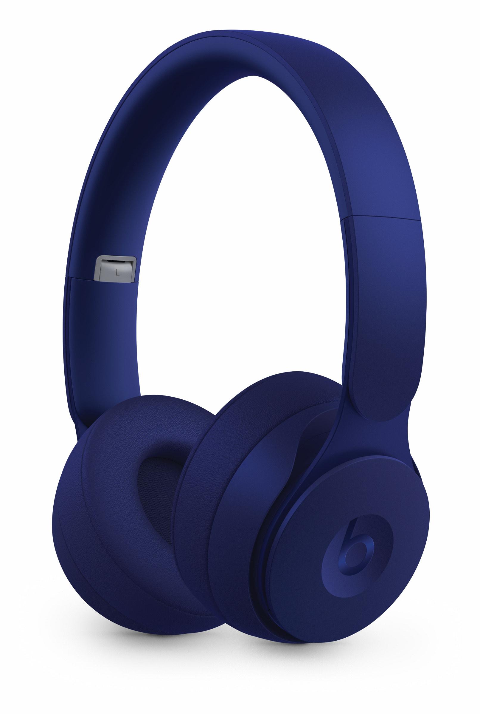 Casque audio sans-fil à réduction de bruit Beats By Dre Solo Pro - bleu foncé ou rouge