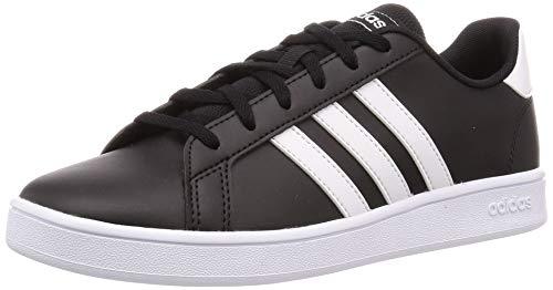Chaussures pour enfant adidas Grand Court K - noir/blanc (du 28.5 au 40)