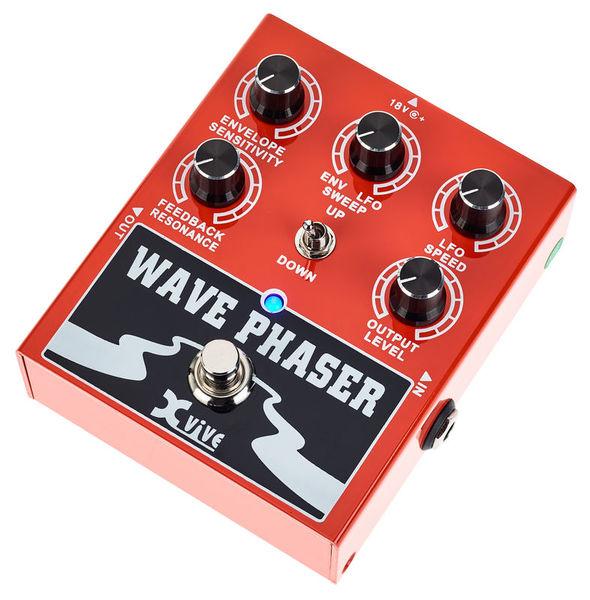 Sélection de pédales guitare XVive en promotion - Ex: W1 Wave Phaser