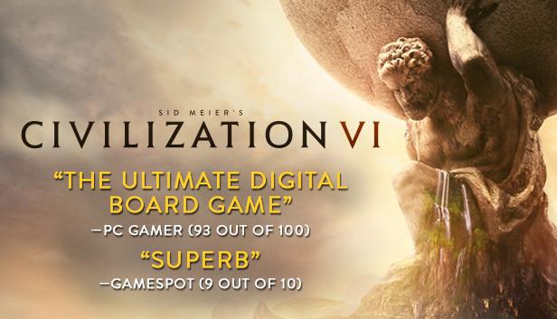 Sid Meier's Civilization VI + Hell Let Loose jouable gratuitement sur PC (Dématérialisé)