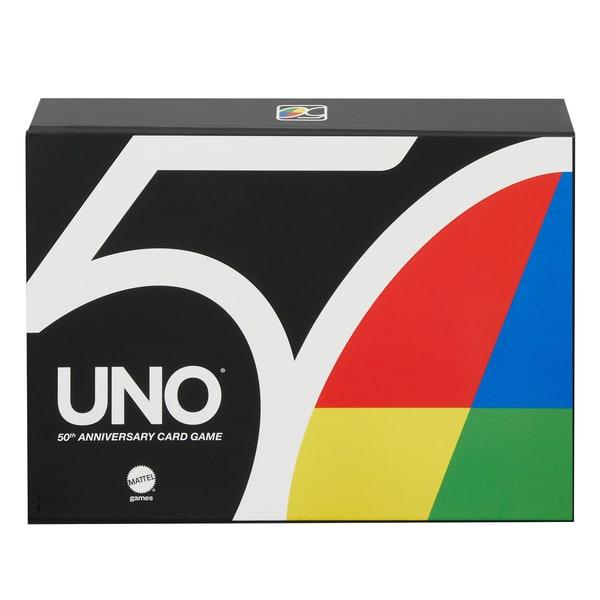 Jeu de carte Uno Premium édition 50 ans